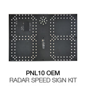 make your own speed sign kit with ultra low power performance and compact size